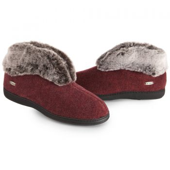Chinchilla Bootie For Women