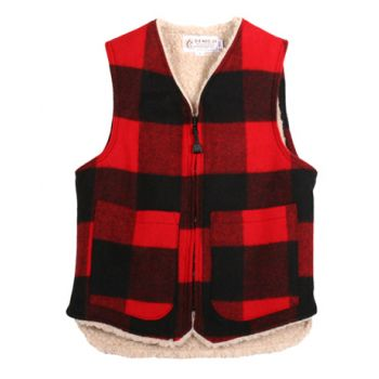 Clearwater Shearling Lined Vest