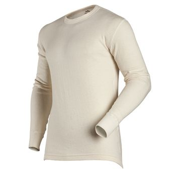 Men's Authentic Wool Plus Long Sleeve Tall Crew