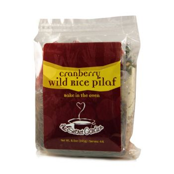 Wild Rice Cranberry Pilaf