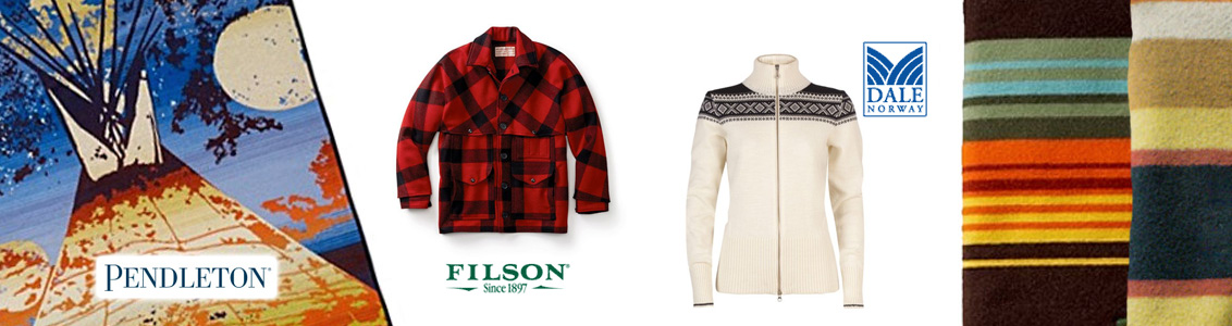 Pendleton Woolen Mills, Dale of Norway, Filson