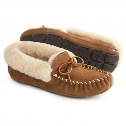 - Sheepskin Moxie Moc For Women