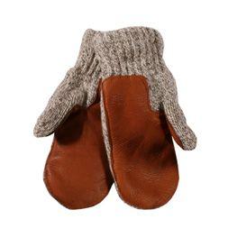 Ragg Wool Mitten Deer Palm 3ba3cc982fd0