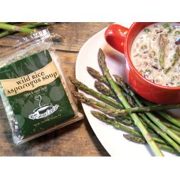 The Secret Garden - Creamy Wild Rice Asparagus Soup