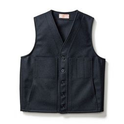 - Mackinaw Wool Vest - Extra Long Fit