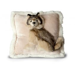 Jaag - 12 in. Pillow Pals (Wolf)