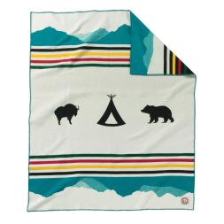 - Crown of the Continent Blanket