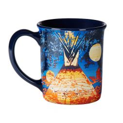 Pendleton Woolen Mills - Full Moon Lodge Ceramic Mug