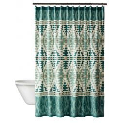 - Pecos Printed Shower Curtains