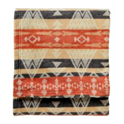 - High Peaks Cotton Jacquard Blankets