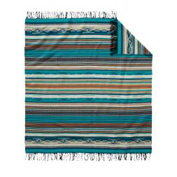 - Fringed Chimayo Throw