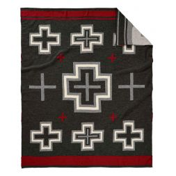- San Miguel Jacquard Knit Throw