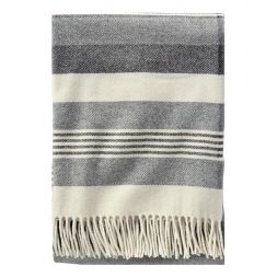 - Horizon Stripe Lambswool Throw