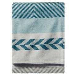 - Organic Cotton Jacquard Blanket
