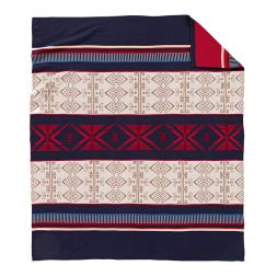- Big Horn Jacquard Knit Throw