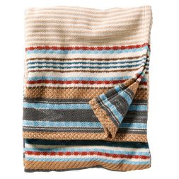 - Escalante Ridge Organic Cotton Jacquard Blanket