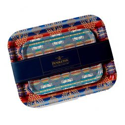 - Birchwood Jacquard Tray Set