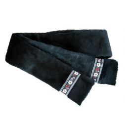 - Fur with Trim Scarf