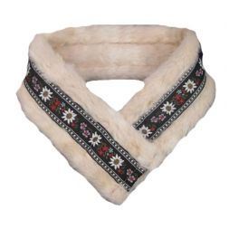 - Fur with Trim Headband with Velcro