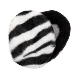 Sprigs Earbags - Zebra Print with Thinsulate®