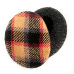 Sprigs Earbags - Tan Plaid Earbags
