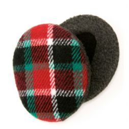 - Red & Green Plaid Earbags