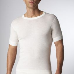 - Super Wash Wool Short Sleeve