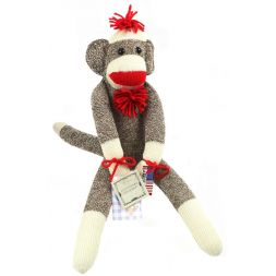 Rockford Monkey Sock - Original Socky Monkey 20 in. tall