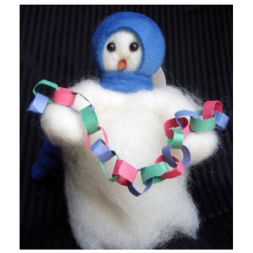 Original Wooly Snowman - &quot; Look Out Below&quot; Wooly<sup>&reg;</sup> Primitive Snowman