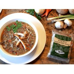 The Secret Garden - Wild Rice Vegetable Soup